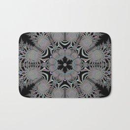 Coloured Snowflake Bath Mat