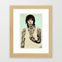Oli Sykes Framed Art Print
