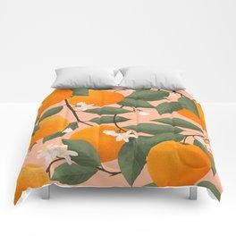 fresh citrus Comforters