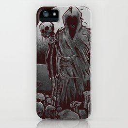 Monk of Death iPhone Case
