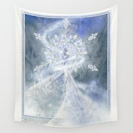 Snow Queen Wall Tapestry