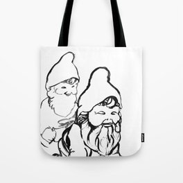 Gnomely playing  Tote Bag