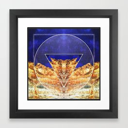 Torrey Pines Framed Art Print