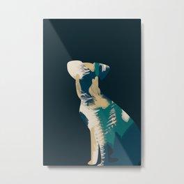 Arty loves art Metal Print