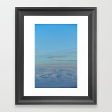 Far above the cotton wool factory Framed Art Print