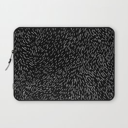 Dashed line drawn by pen Laptop Sleeve