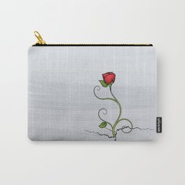 The Rose that Grew from Concrete Carry-All Pouch