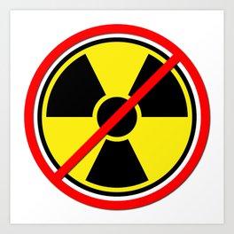 Against Atom Art Print