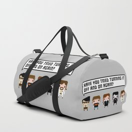 The IT Crowd Characters Duffle Bag