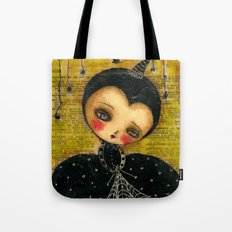 Spider Woman Hallowen Art Tote Bag