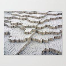 Pyramid in Lima Canvas Print