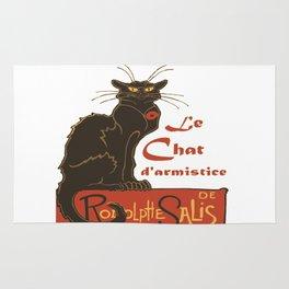Tournee du Chat Noir D'Armistice Tribute Vector Rug