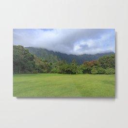 Koolau Mountains Hawaii Metal Print