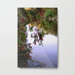 By The Water Metal Print