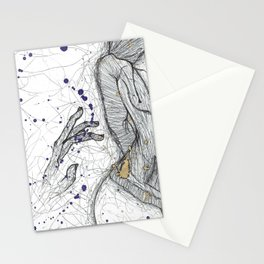 A Little Closer, A Little Further Away Stationery Cards
