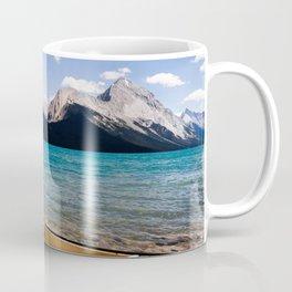 Maligne Lake Beached Canoe Coffee Mug