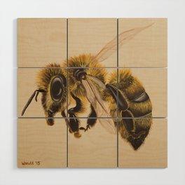 Bee IV (Leon) Wood Wall Art