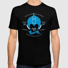 Video Game Gamer Geek Mega Man Inspired Classic Cyborg Battle Kid T-shirt