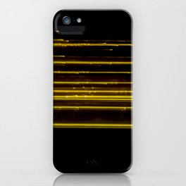 Abstract Orange Light Effect iPhone Case