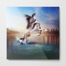 Pegasus, Part 2 The Ancients Series  Metal Print