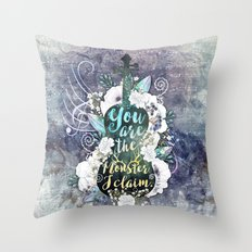 Wintersong - Monster Throw Pillow