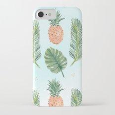 Pineapple trail iPhone 7 Slim Case