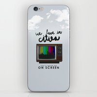 lorde iPhone & iPod Skins featuring Cities you'll never see on screen - Lorde by Jesus Acosta