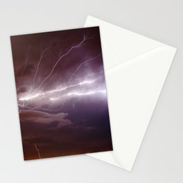 Nature's Light Show Stationery Cards