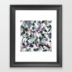 Diamond Rock Framed Art Print
