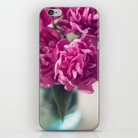 peony iPhone & iPod Skins featuring Peony by Jenny Ardell