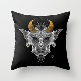 Devil #1 Throw Pillow