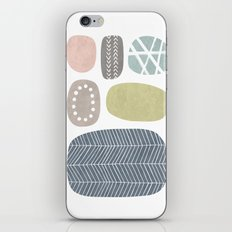 Painted Stones iPhone & iPod Skin