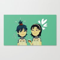 yowamushi pedal Canvas Prints featuring Yowamushi Pedal by Gracejo413