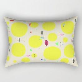 Boom print Rectangular Pillow