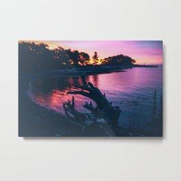 Purp Sunrise Metal Print