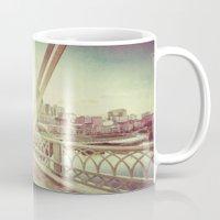 nashville Mugs featuring Nashville by GF Fine Art Photography