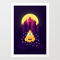 bill Art Prints featuring BILL by badOdds
