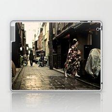 Maiko San in Gion, Kyoto Laptop & iPad Skin
