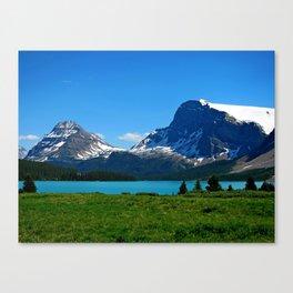 Bow Lake, Canadian Rockies Canvas Print