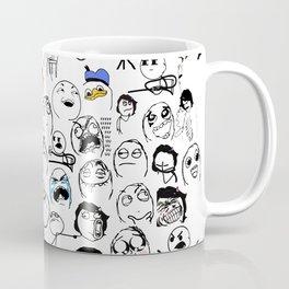 Meme Faces Coffee Mug