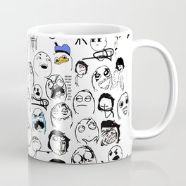 Meme Faces Coffee Mug
