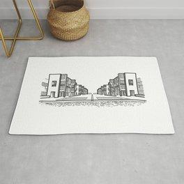 Kahn - Salk Institute Sketch (B) Rug