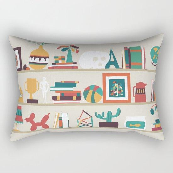 The shelf Rectangular Pillow