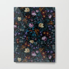 Night Garden XXXIII Metal Print