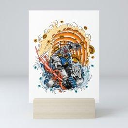 gundam rx 78 Mini Art Print