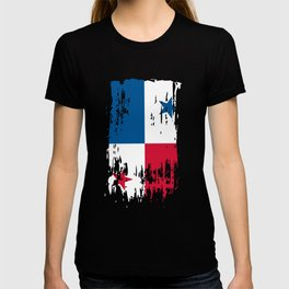 PA PAN Panama Flag T-shirt
