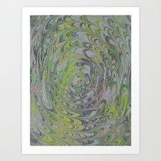 Marble Print #41 Art Print
