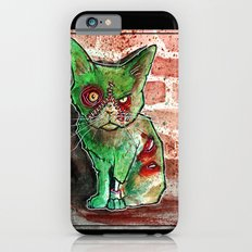 Mean Green Cute Zombie Cat Slim Case iPhone 6s