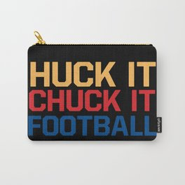 Huck it Chuck it Football Carry-All Pouch