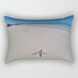 Starfish Beach Rectangular Pillow
